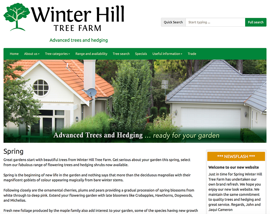 Winter Hill Tree farm website - take a look >